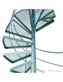 Лестница винтовая Air balustrade