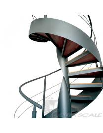 Лестница винтовая Air3c balustrade